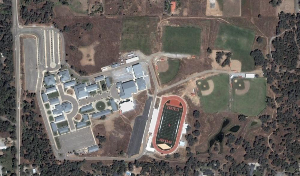 Schools and Churches - Foothill High School