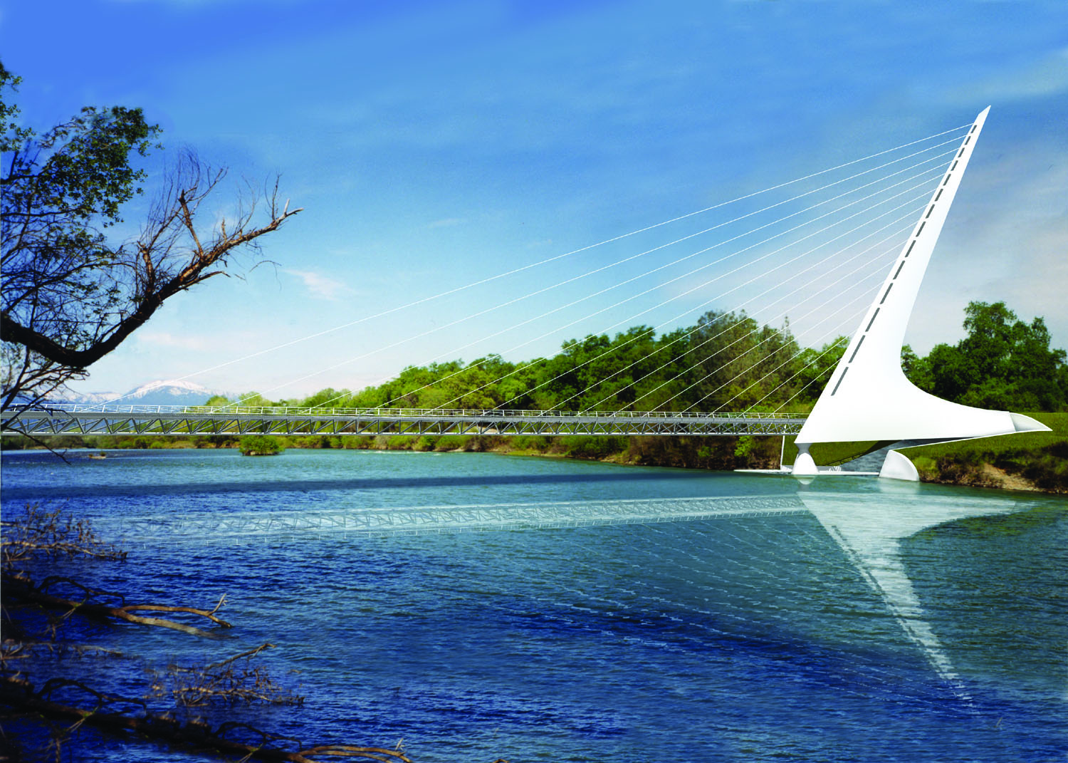 Public/Semi-Public Projects - Sundial Bridge at Turtle Bay