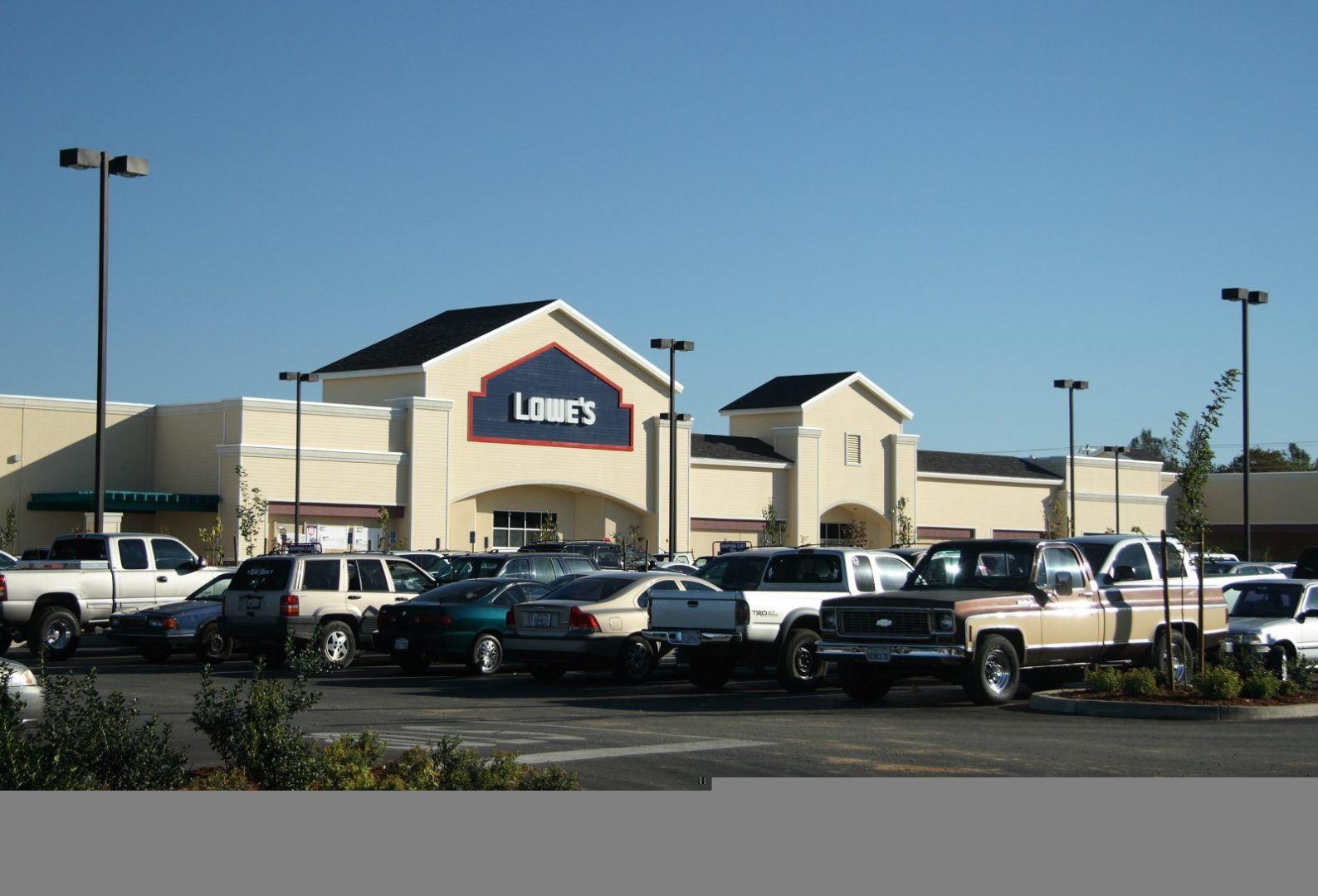 Commercial Project - Lowe's (Redding)