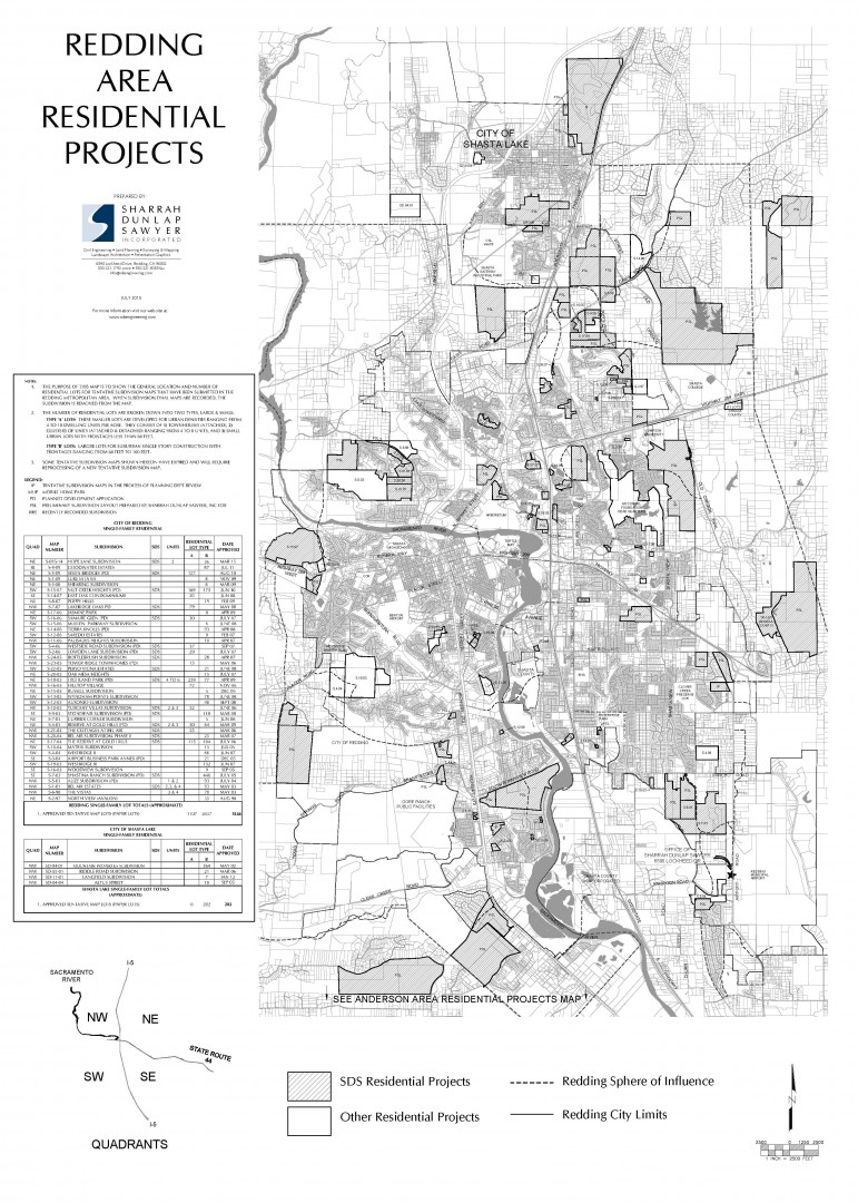 Residential Map 2015