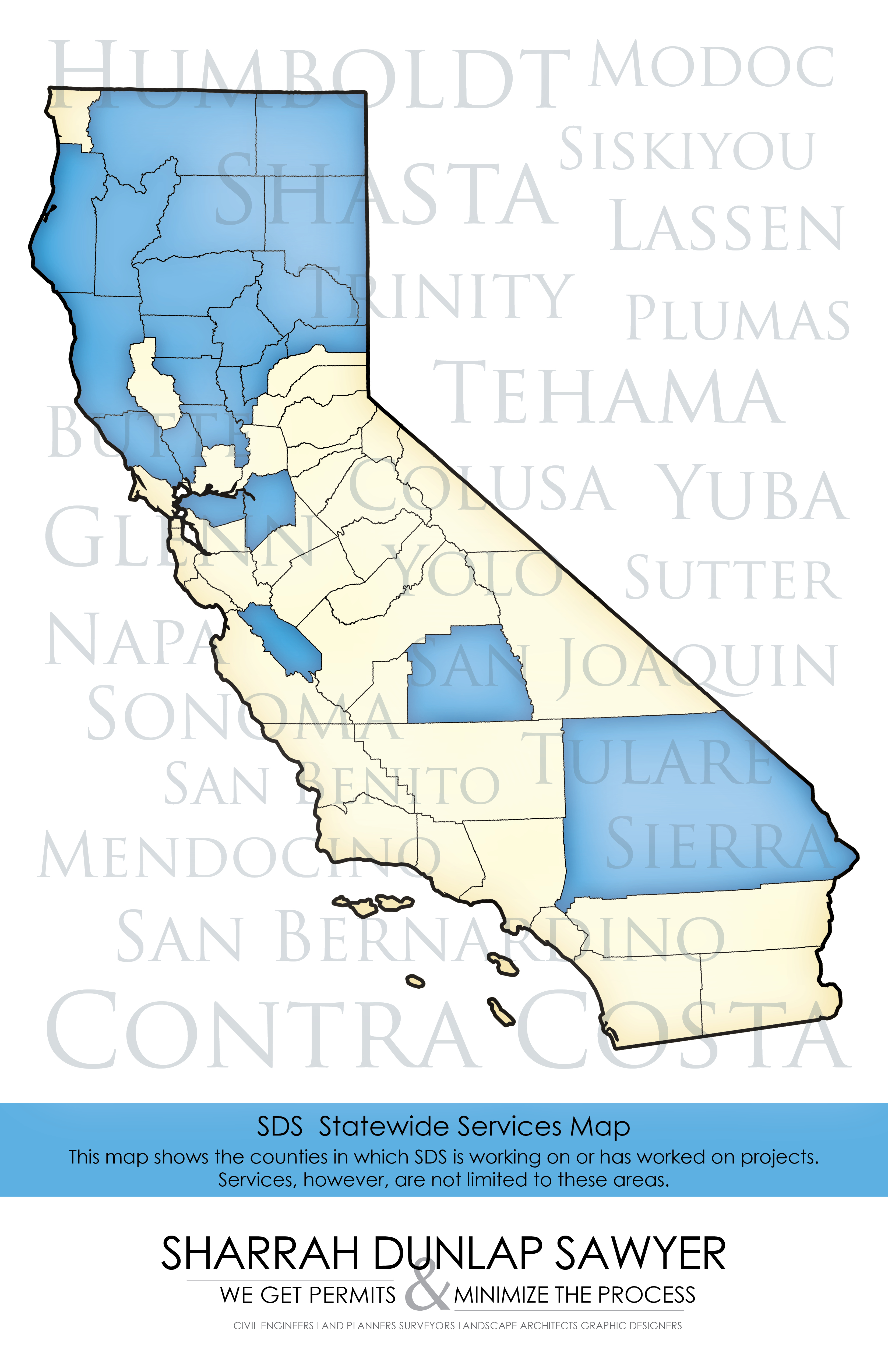 SDS Statewide Services Map - Firm Services Map
